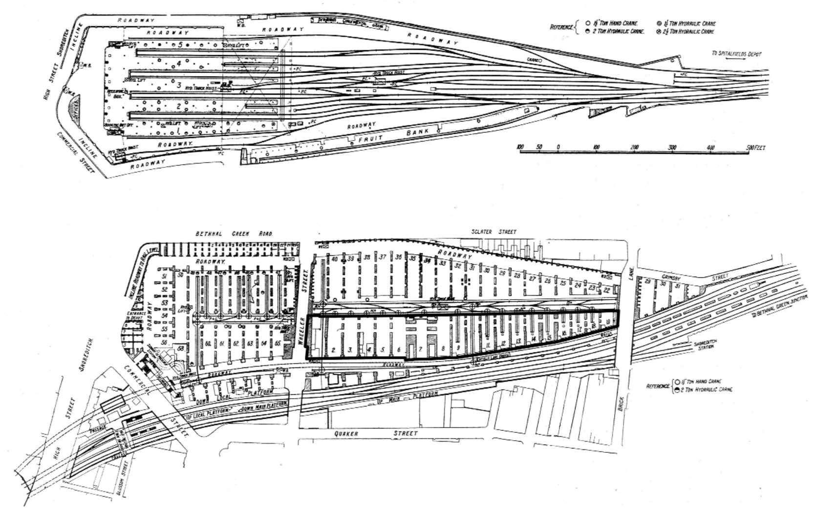 Bishopsgate Goods Station – Subterranea Britannica